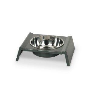 Melamin-Hundenapf Mister Grau 160 ml