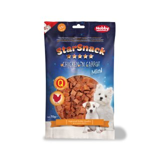 StarSnack MINI Chicken`n Carrot  70 g