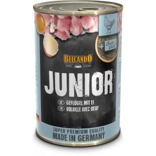 Belcando Junior Geflügel mit Ei 400g