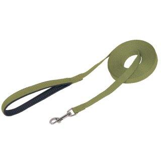 Schleppleine flach grün L: 1000 cm, B: 15 mm