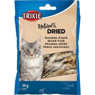 Trixie Trockenfisch für Katzen 50g