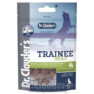 Dr. Clauder's Dog Snack Trainee Mini Hirsch 50g