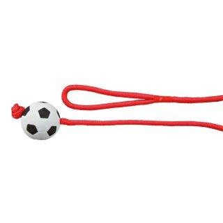 Trixie Fußball am Seil Moosgummi 6cm