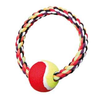 Trixie Denta Fun Tennisball am Seil