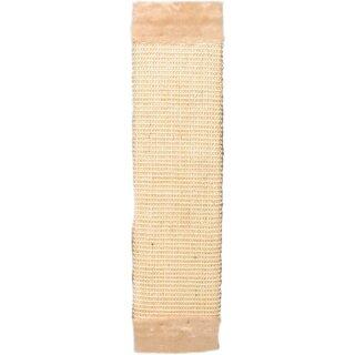 Trixie Kratzbrett mit Plüsch beige 15 × 62 cm