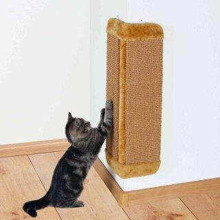Trixie Kratzbrett für Zimmerecken braun 32 × 60 cm