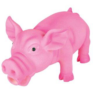 Schwein Original-Tierstimme Latex 17 cm