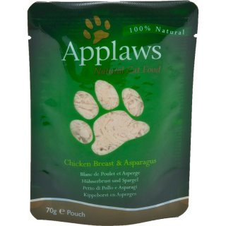 Applaws Cat PB Hühnerbrust/Spargel 70g