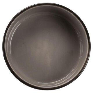 Trixie Keramiknapf mit Pfoten braun/creme