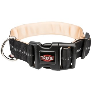 Trixie Softline Elegance Halsband extra breit M-L