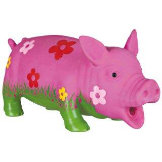 Trixie Dog Schwein mit Blumen 20 cm