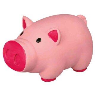 Hundespielzeug Schwein Latex 11 cm