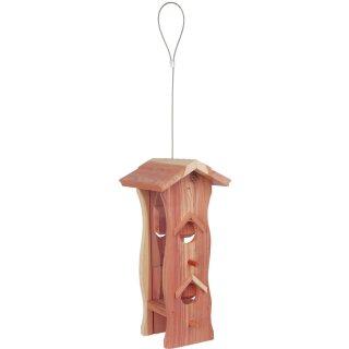 Futterspender Holz 12 × 29 × 14 cm