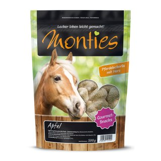 Monties Apfel Snacks - extrudiert 500g