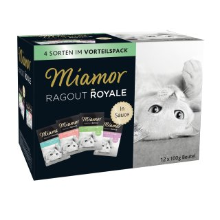 Miamor Ragout Royale Multi Mix Sauce 12x100g