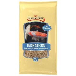 Classic Fish Teich Sticks 7ltr Beutel
