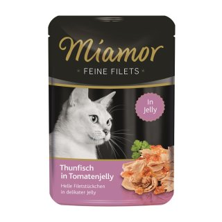 Miamor Feine Filets Thunfisch in Tomatenjelly 100g