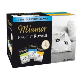 Miamor Ragout Royale in Jelly Multibox 12x100g