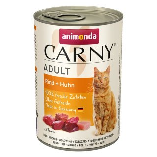 Animonda Carny Adult Rind & Huhn 400g