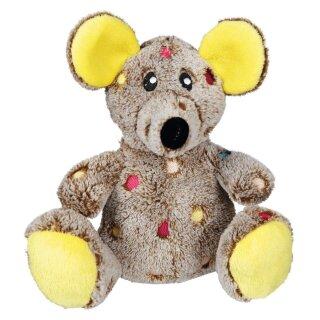 Maus Plüsch mit Stimme 17 cm