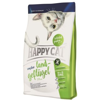 Happy Cat Sensitive Adult Land-Geflügel 300g