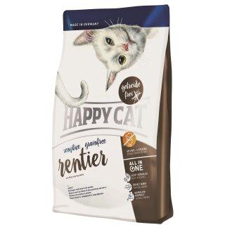Happy Cat Sensitive Adult Grainfree Rentier 300g