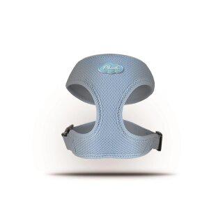 Curli Basic Geschirr Air-Mesh Skyblue XL