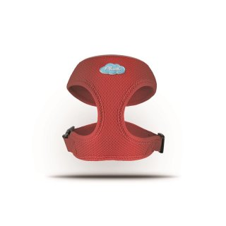 Curli Basic Geschirr Air-Mesh Rot XL