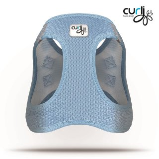 Curli Vest Geschirr Air-Mesh Skyblue XL
