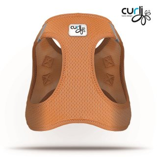 Curli Vest Geschirr Air-Mesh Orange S