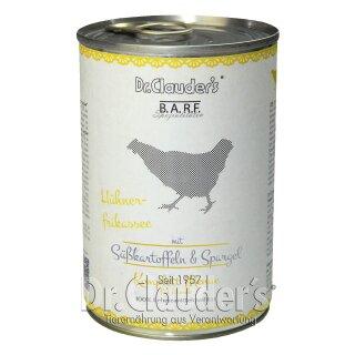 Dr. Clauder's BARF Dose Komplettmenü Hühnerfrikassee 400g