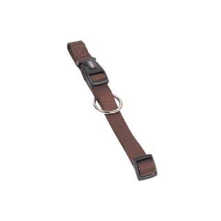 Nylon-Halsband CLASSIC Braun M-L