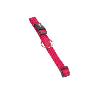 Nylon-Halsband CLASSIC Rot L-XL