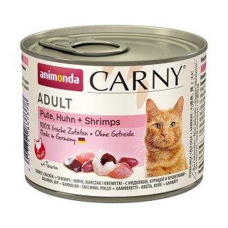 Animonda Carny Adult Pute & Huhn & Shrimps 200g