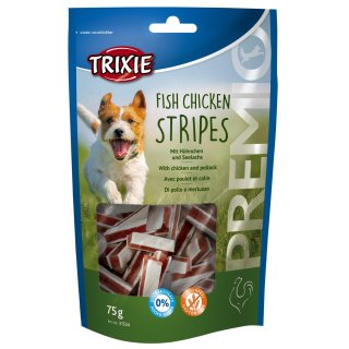 Premio Fish Chicken Stripes 75 g