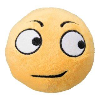 Plüsch-Smiley Zweifelnd 9 cm