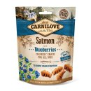 Carnilove Crunchy Snack - Salmon with Blueberries 200g