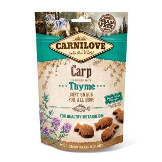 Carnilove Hund Soft Snack – Carp with Thyme 200g