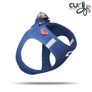 Curli Vest Geschirr Air-Mesh blau S
